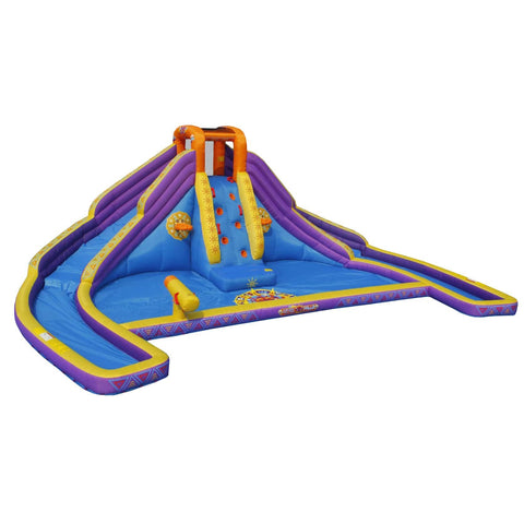 Residential Bounce House - KidWise Aztec Falls Back to Back® Water Park - The Bounce House Store