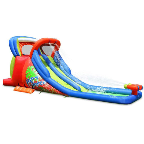 Residential Bounce House - KidWise Hot Summer Double Water Slide - The Bounce House Store