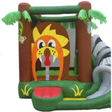 Residential Bounce House - KidWise Safari Bounce House With Slide - The Bounce House Store