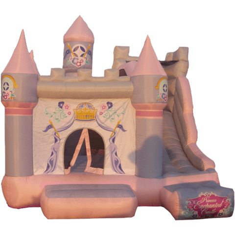 Residential Bounce House - KidWise Princess Enchanted Castle With Slide Bounce House - The Bounce House Store