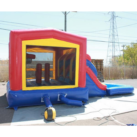 2 Lane Classic Module Bounce House Combo