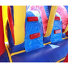 Image of 2 Lane Classic Module Bounce House Combo climbing wall