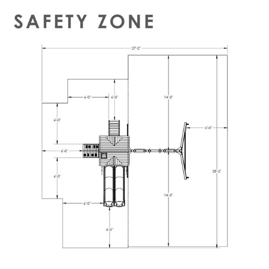 Gorilla Double Down II Safety Zone