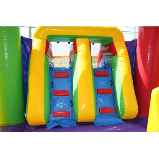 2-Lane Balloon Combo Bouncer Wet n Dry