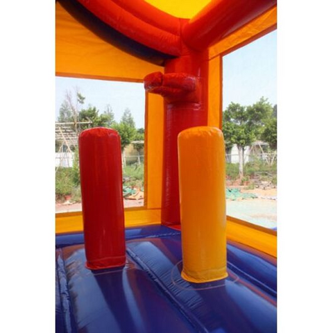 2-Lane Carnival Combo Bouncer Wet n Dry