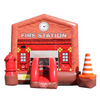 Image of 14' Commercial Bounce HOuse Fire Station