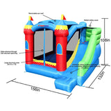 Royal Palace Bounce House with Slide from Bounceland