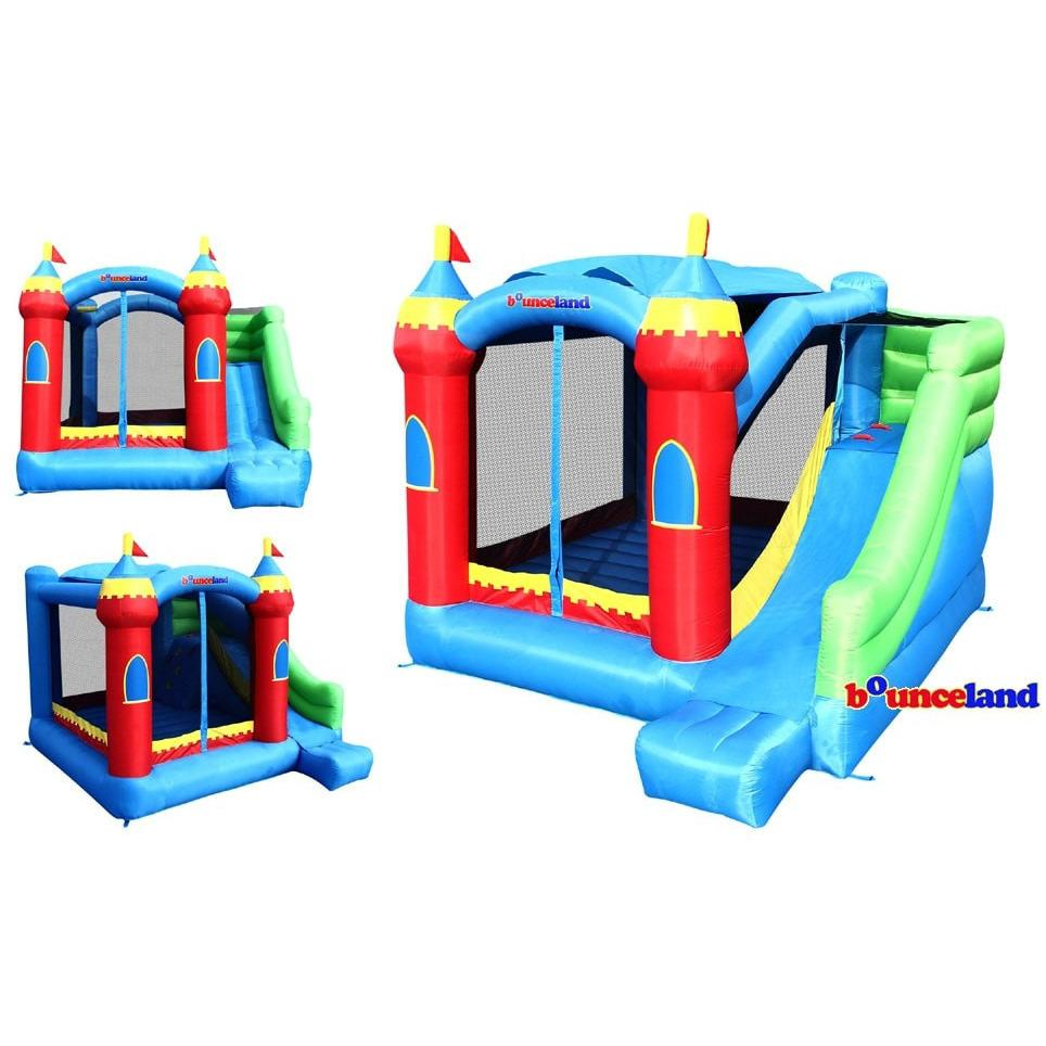 Residential Bounce House - Bounceland Royal Palace Bounce House with Slide - The Bounce House Store