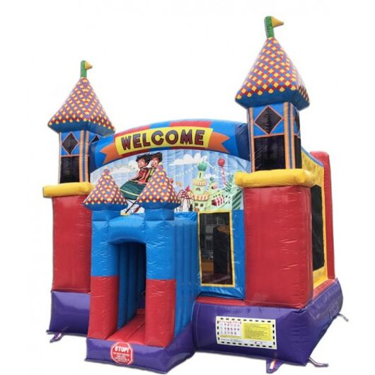 14' Carnival Theme Commercial Bounce House