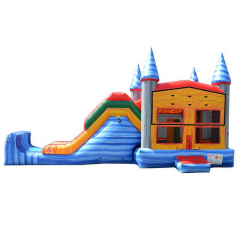 5 in 1 Super Combo Castle Wet n Dry - Marble