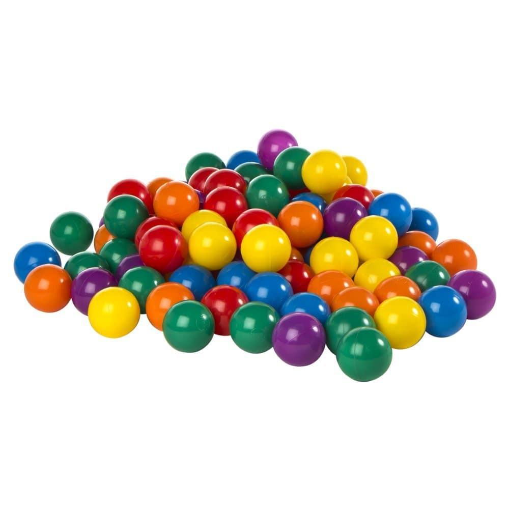 Accessories - 100 Pack of Multi-colored PVC Bounce House Balls - The Bounce House Store