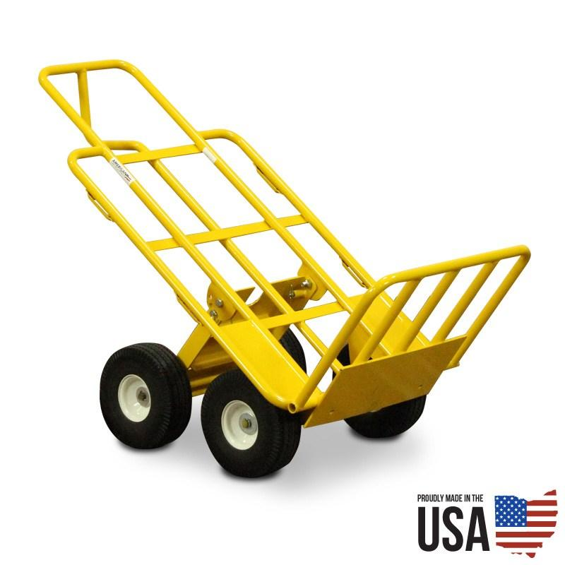 multi mover hand truck for bounce houses and inflatables
