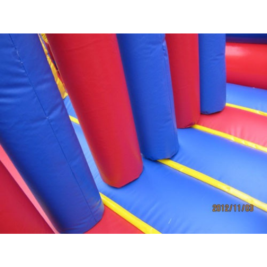 7 Element Commercial Obstacle Course by Moonwalk USA - The Outdoor Play Store
