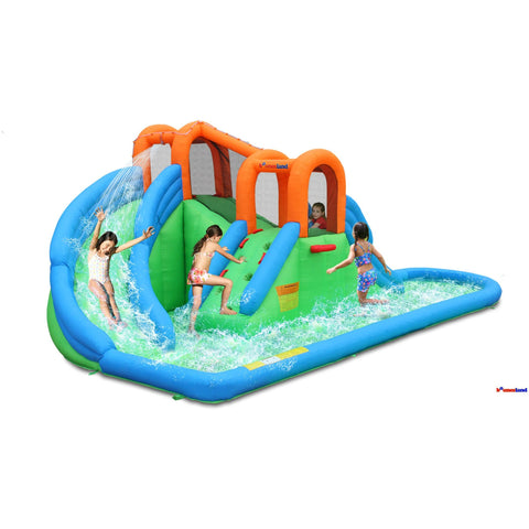 Bounceland Inflatable Island Waterpark
