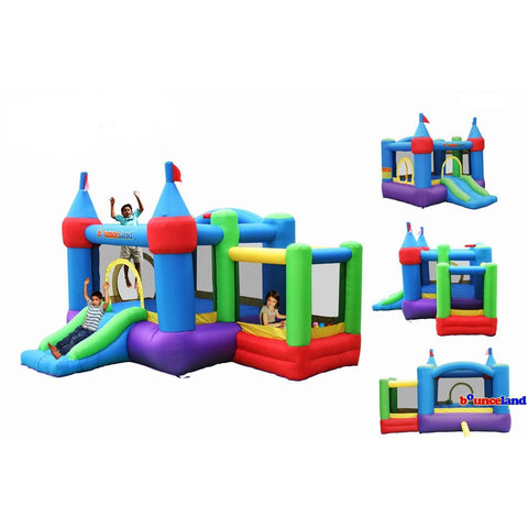 Residential Bounce House - Bounceland Dream Castle Bounce House with Ball Pit - The Bounce House Store
