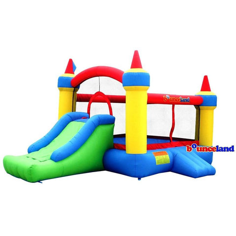 Bounceland Mega Castle with Slide Bounce House
