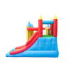 Image of ALEKO Inflatable Bounce House with slide for sale - The Outdoor Play Store