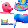 Image of ALEKO Bounce House Octopus Themed - components
