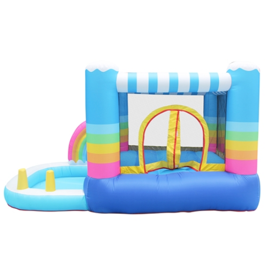 ALEKO Inflatable Bounce House with Ball Pit for sale - The Outdoor Play Store