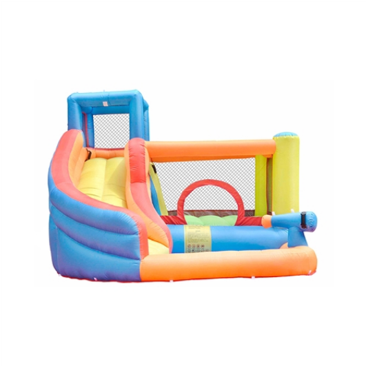ALEKO Inflatable Bounce House with Water Sprayer and Splash Pool for sale