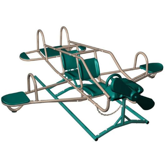 LIFETIME Ace Flyer Teeter Totter in Earthtone colors