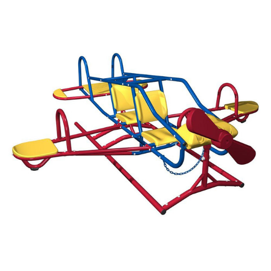 LIFETIME Ace Flyer Teeter Totter in Primary colors