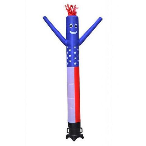 Air Dancer - LookOurWay American Flag Inflatable AirDancer® 10ft - The Bounce House Store