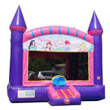 Pink Princess Commercial Bounce House