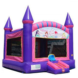15' Pink Princess Commercial Bounce House