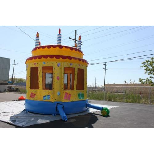 Commercial Bounce House - Birthday Cake Commercial Bounce House - The Bounce House Store