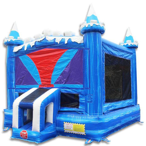 Commercial Bounce House - Frozen Castle Commercial Bounce House - The Bounce House Store