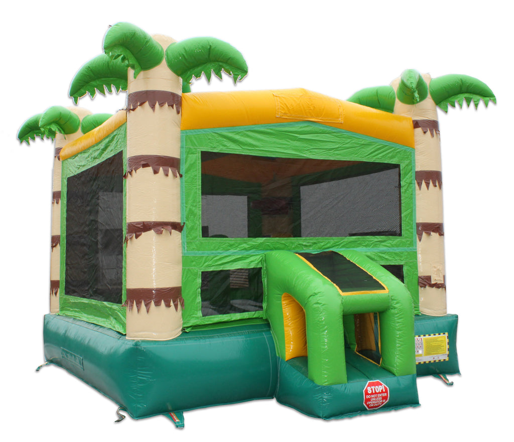 14' Palm Tree Commercial Bounce House