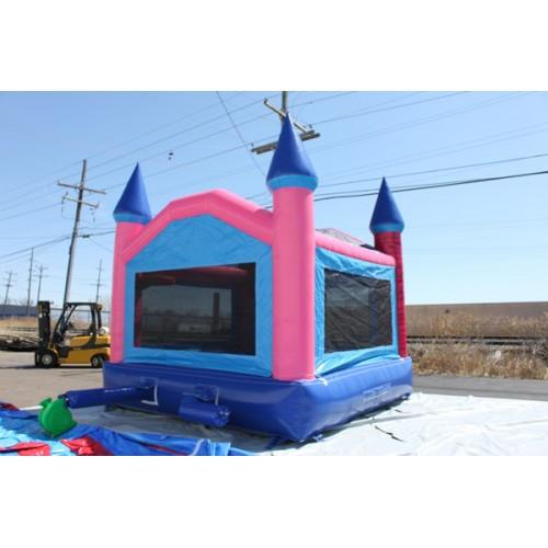 Commercial Bounce House - 14' Pink Princess Commercial Bounce House - The Bounce House Store
