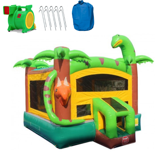 14' Dinosaur Commercial Bounce House