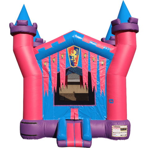 Commercial Bounce House - 3D Princess Castle Jumper - The Bounce House Store