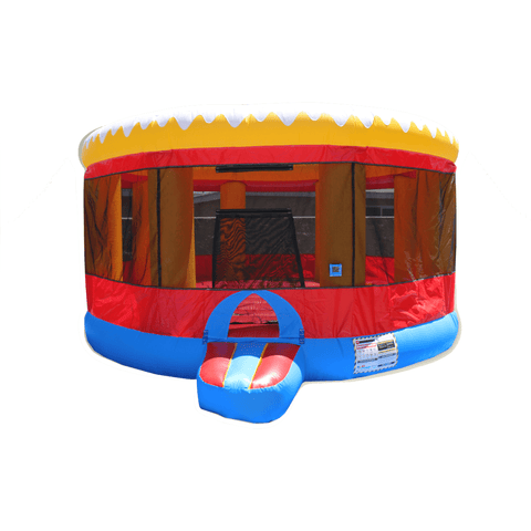 Commercial Bounce House - EZ Inflatables Round Jumper - The Bounce House Store