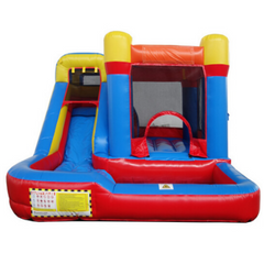Residential Combo Bounce House with Slide Wet n Dry