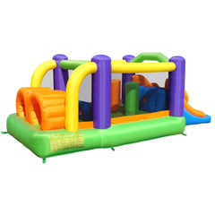 Residential Bounce House - Bounceland Obstacle Pro-Racer Bounce House - The Bounce House Store