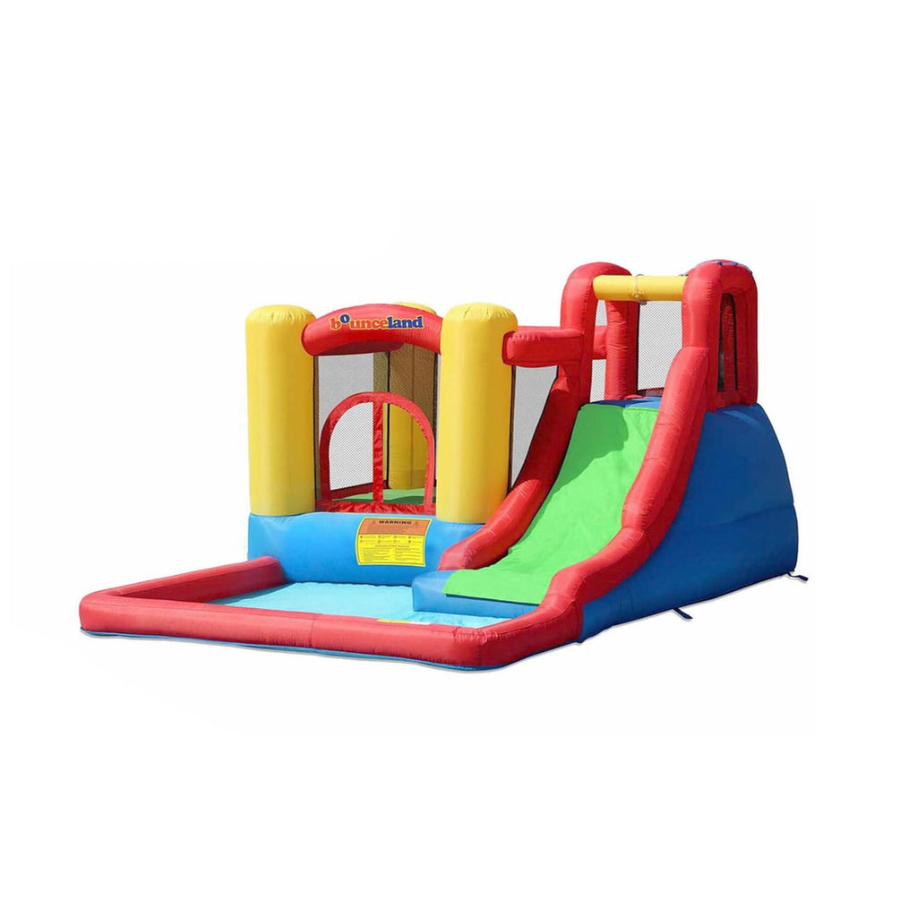 Residential Bounce House - Bounceland Jump and Splash Adventure Water Slide Bounce House - The Bounce House Store