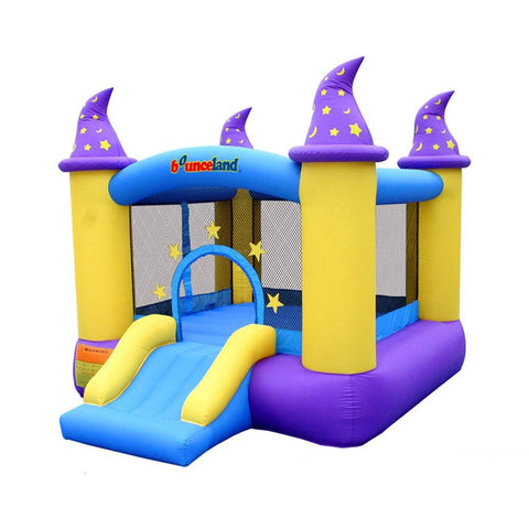 Residential Bounce House - Bounceland Wizard Magic Bounce House - The Bounce House Store