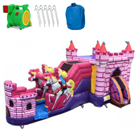 Princess Castle Combo Wet n Dry