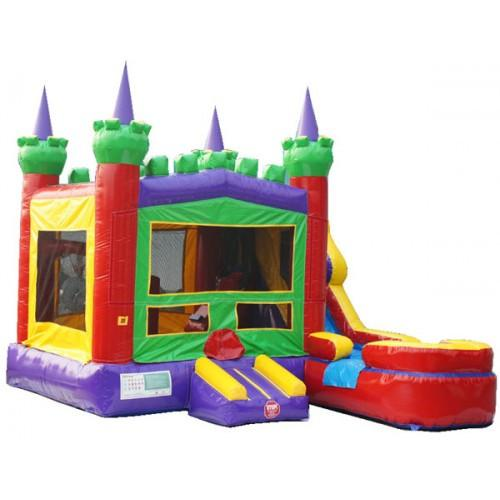 Commercial Bounce House - King Castle Combo Wet n Dry - The Bounce House Store