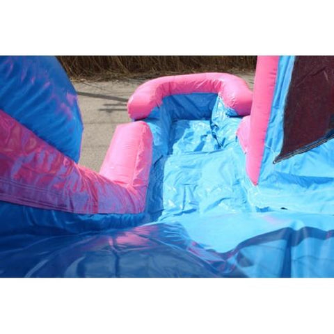 slide down the princess commercial bounce house slide