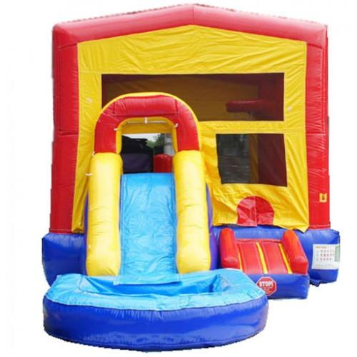 MoonWalk USA Module Bounce House Combo With Pool