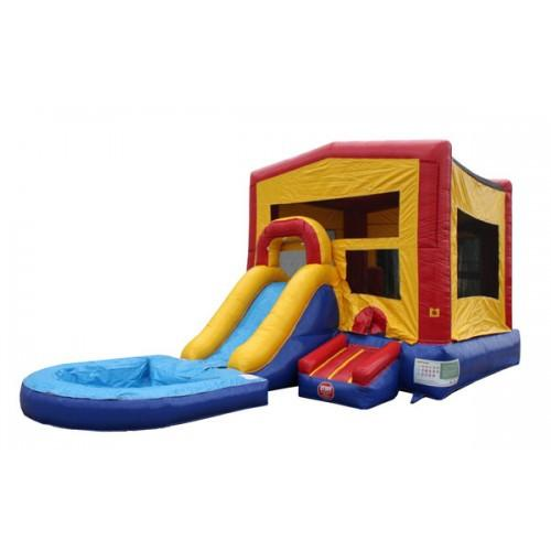 Module Bounce House Combo With Pool
