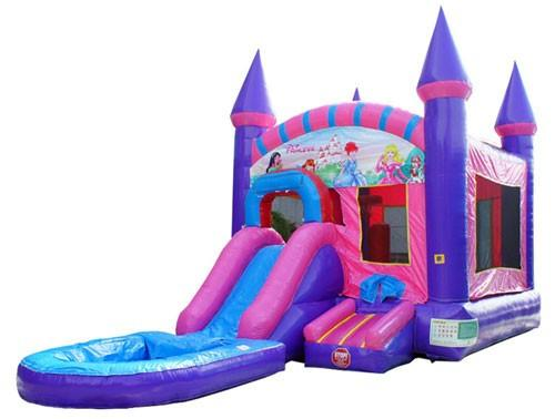 Princess Bounce House With Pool