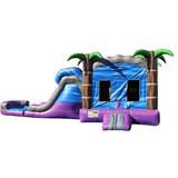 Commercial Bounce House - Tropical Purple Crush™ Combo - The Bounce House Store