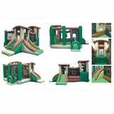 Commercial Bounce House - KidWise Commercial Clubhouse Climber - The Bounce House Store