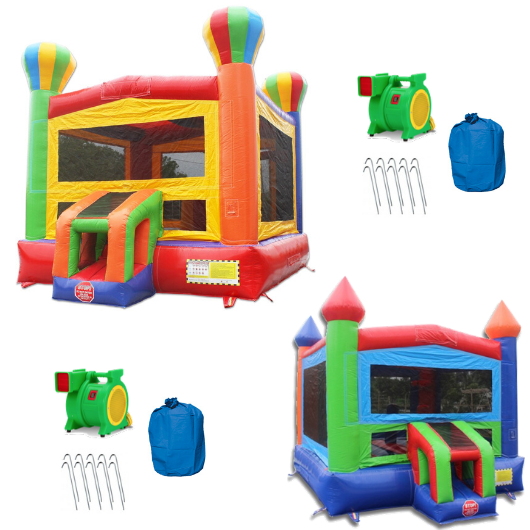 14' Commercial Bounce House Package