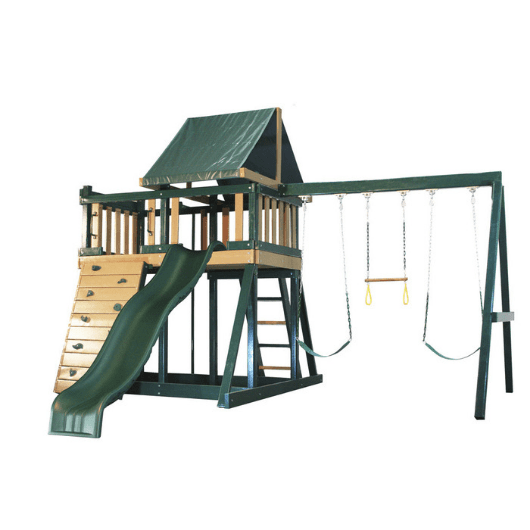 congo monkey playset green and sand